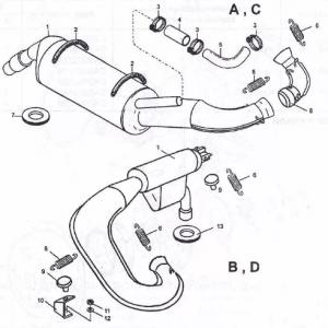 Система выпуска РМЗ-500,550,551