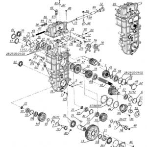 Регулятор центробежный. Трансмиссия. Коробка передач С40602950 (Тайга Patrul 800 SWT)