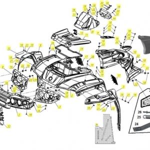 Пластиковый обвес РМ 650-2