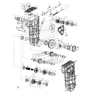 Регулятор центробежный. Трансмиссия. Коробка передач C40600100 (Тайга Варяг 500,550,550V)