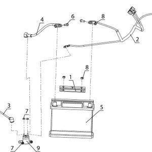 Система электрозапуска TAYGA Patrul 800 SWT