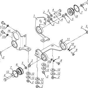 Крепление двигателя РМЗ-551i