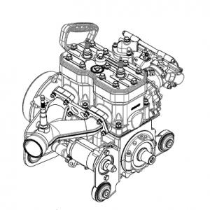 Двигатели РМЗ 550, 551i