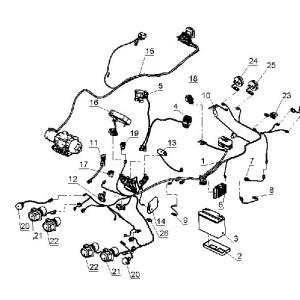 Электрооборудование, осветительные и сигнальные приборы, система зажигания (квадроцикл РМ 650-2)